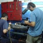 Proceso de elaboración de un cable de acción mecánica.
