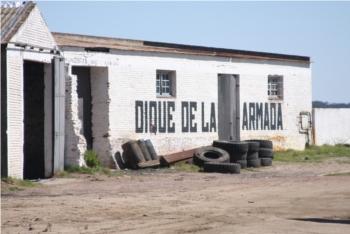 El dique de la Armada en Punta Lobos (Bahía de Montevideo) fue inaugurado en 1874.