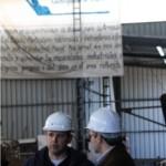En la entrevista, Mouro informó que se invirtieron 1.500.000 dólares en la reconstrucción y equipamiento del Astillero de la Armada.