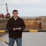 """El presidente de la Cámara de la Industria Naval del Uruguay Daniel de Siano considera que el sector privado """"está compitiendo en condiciones desiguales"""" con el Astillero de la Armada."""