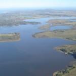 Laguna del Sauce y parte de su cuenca: las lagunas de los Cisnes y del Potrero