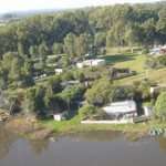 Zona residencial de la Laguna del Sauce