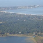 Punta Ballena desde Laguna del Sauce