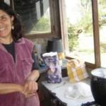Cristina García es la esposa de Torres. Ella realiza a la par todas las actividades del establecimiento.