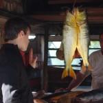 Alejandro Landoni entrevista a Manzanita el día que salieron dorados en Punta Brava.