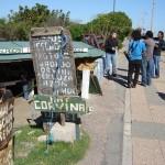 Alejandro Landoni cierra el programa en la rambla de Punta Carretas sobre Juanucho y Manzanita.