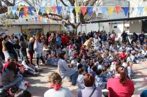 Parte de los asistentes a la Feria Regional de Durazno. La actividad de los Clubes impacta a 50.000 personas.